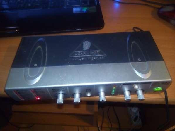 Behringer minifex FEX800 - вокальный процессор в Ярославле фото 3