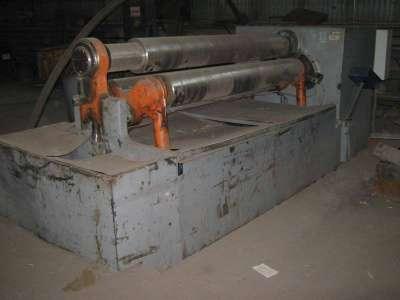 Трехвалковая листогибная машина ИБ 2222М