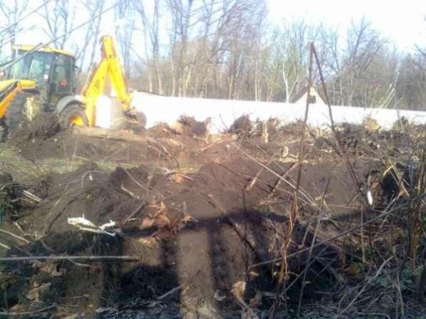 Выкорчевка пней, спил деревьев в Самаре