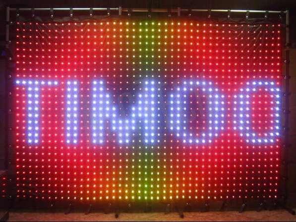 Светодиодный видео занавес 6х4 P20 DMX