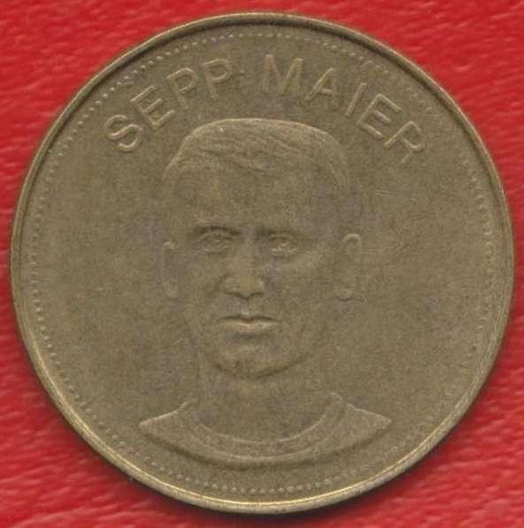 Жетон Shell Шелл Майер футбол Traum-elf 1969