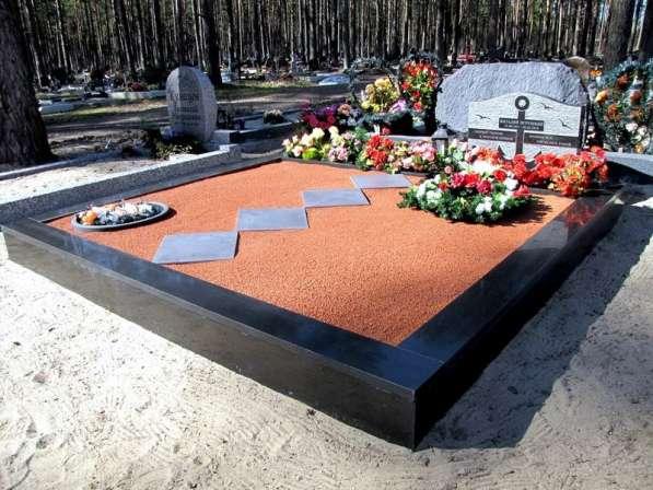 Установка памятника. Благоустройство Слуцк в Москве фото 4
