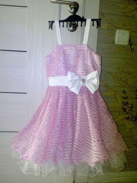Продам детское, красивое платье