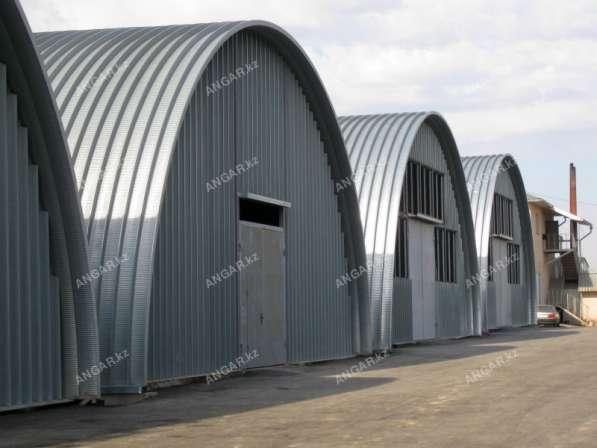 Продажа арочных бескаркасных ангаров в г. Кызылорда