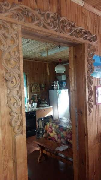 Дом-дача из бруса, обложен кирпичом. Московское направление в фото 10