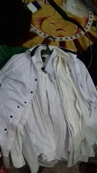 Белые школьные рубашки