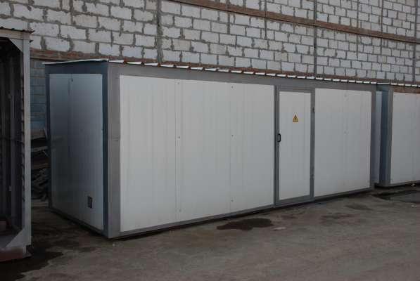 Блочно-модульные подстанции 2КТПНУ, мощностью до 2500 кВА в Москве фото 3