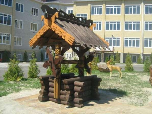 Изготавливаем деревянные колодцы в Ростове-на-Дону