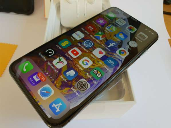 Apple iPhone XS Max - 512 ГБ - космический серый (разблокиро