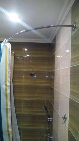 Карнизы, штанги, перекладины для шторки в ванную в Краснодаре фото 9