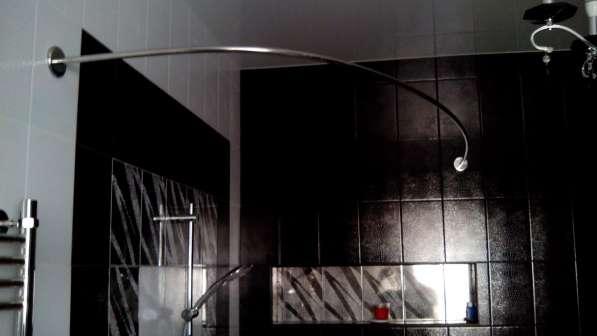 Карнизы, штанги, перекладины для шторки в ванную в Краснодаре фото 11