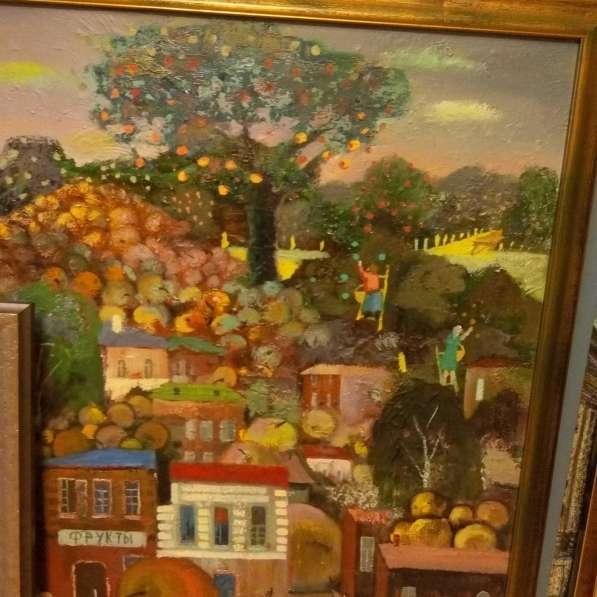 Продается картина русского художника Левитова С.80/80,холст