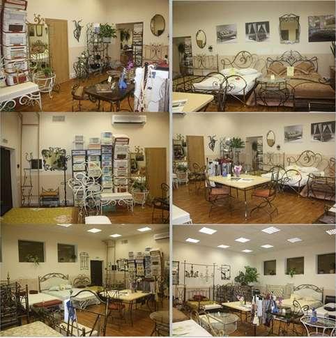 Кованая мебель, кованые кровати, скидка до 50%