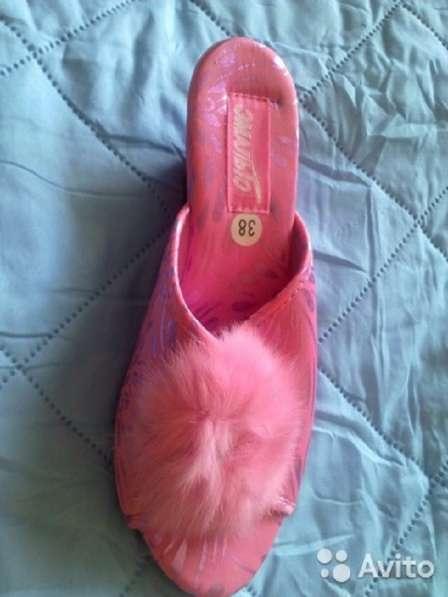 Тапочки туфли домашние новые