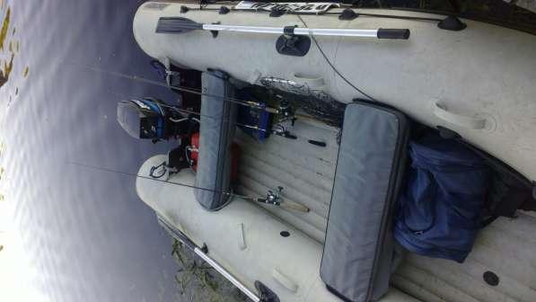 Лодка пвх с мотором меркури-25 и прицепом