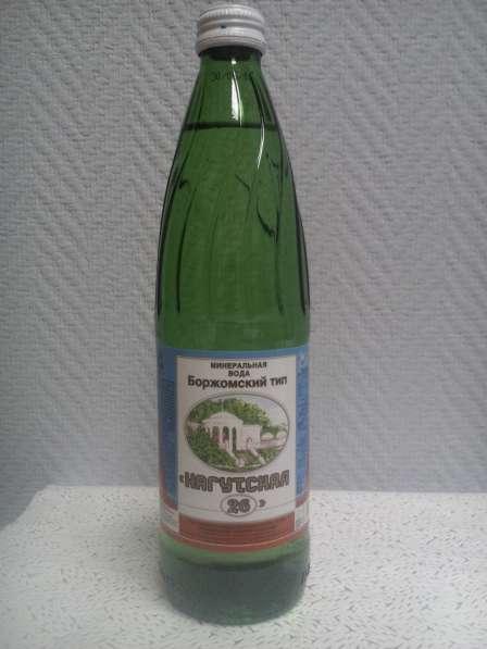 """Вода """"Нагутская-26"""" минеральная 0,5 стекло"""