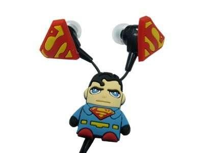 Супергеройские наушники Супермен