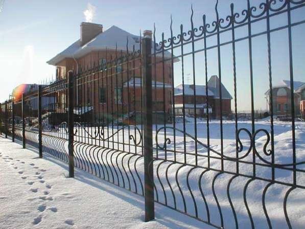 Заборы, ограждения, решетки в Новосибирске фото 6