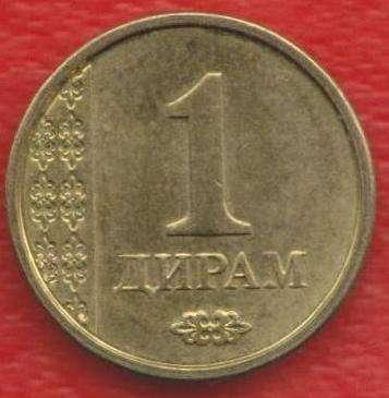 Таджикистан 1 дирам 2011 г.