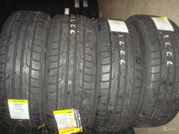 Новые шины dunlop 205/55 R16 Direzza