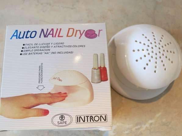 Мини-вентилятор для сушки ногтей