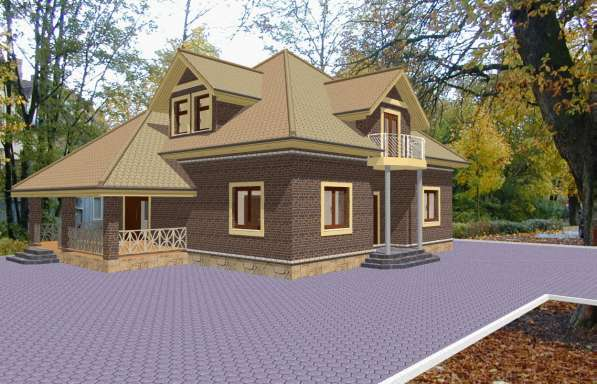 Архитектурное проектирование домов и коттеджей