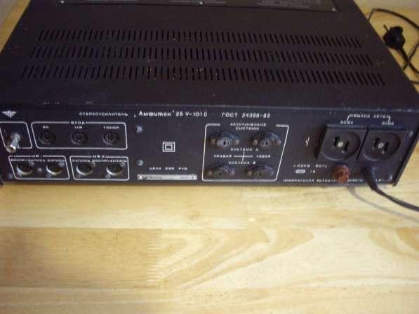 Стереофонический усилитель Амфитон 25У-101С-1 в Челябинске фото 5