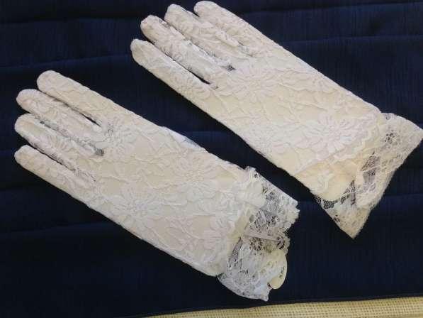 Короткие белые перчатки Love Wedding Couture