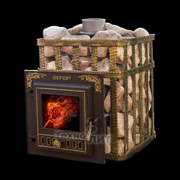 Чугунная банная печь ПБ-04-МС (до 15 м. куб.)
