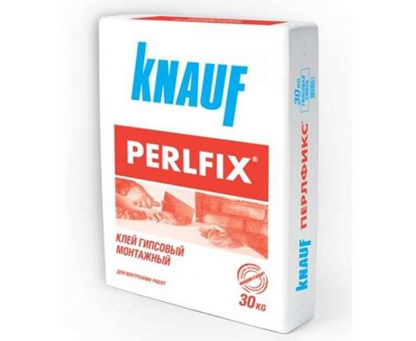 Клей для пазогребневых блоков Knauf Perlfix, 30 кг