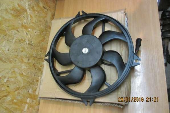Вентилятор радиатора Citroen C4 и Peugeot 307