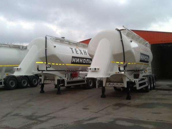 Полуприцеп для перевозки сыпучих грузов 30 м3