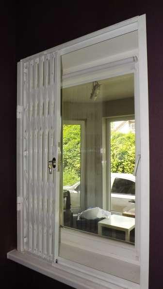 Раздвижные решетки на окна и двери