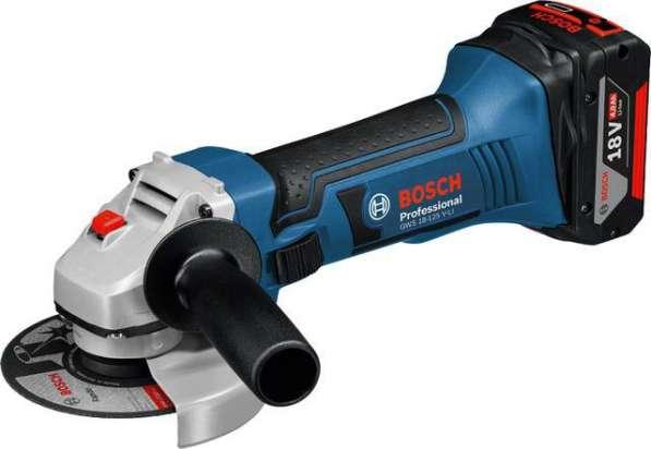 Аккумуляторная угловая шлифмашина Bosch GWS 18-125 V-LI 060193A307