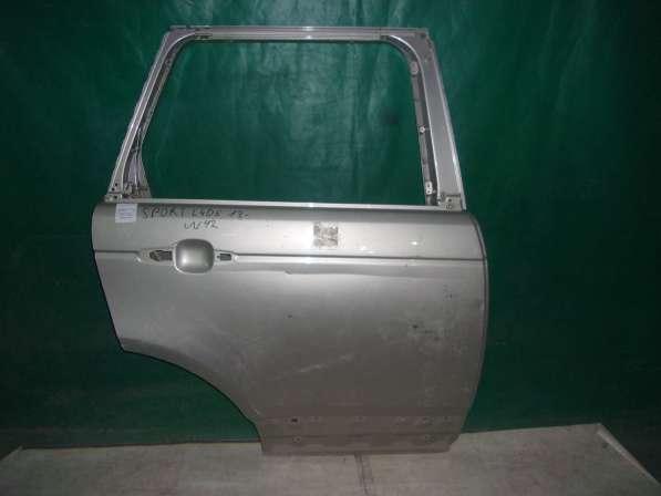 Серебристая дверь для Range Rover Sport L405(13-н.в.)
