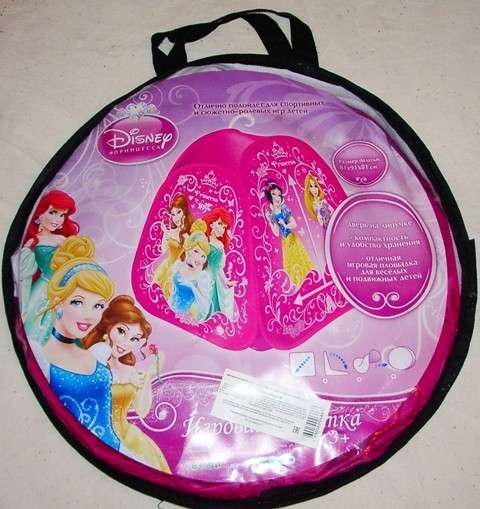 Палатка игровая Принцесса новая 81х91 см DISNEY Princess