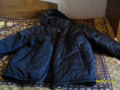 мужская зимняя куртка 58-60р.