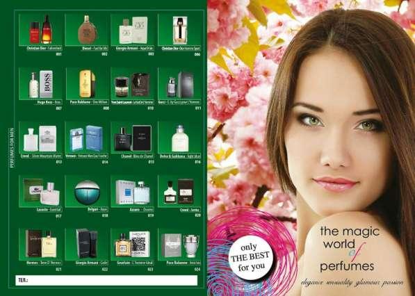 Номерной элитный парфюм