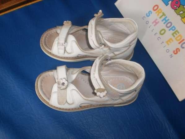 Ортопедические сандалии для девочки 28 размера в Санкт-Петербурге фото 4