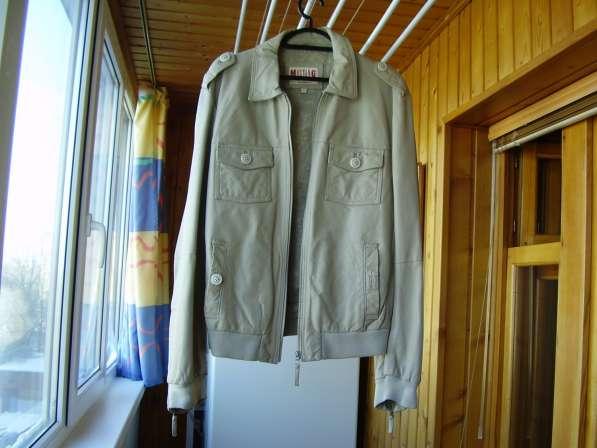 Кожаная куртка Мустанг Германия