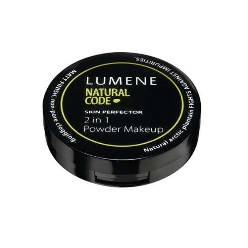 Пудра компактная матирующая Lumene Natural Code Skin Perfect