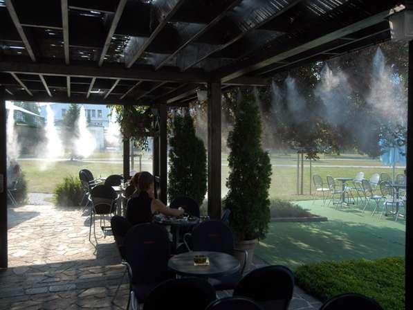 Системы туманообразования, туманное охлаждения, Микроклимат в