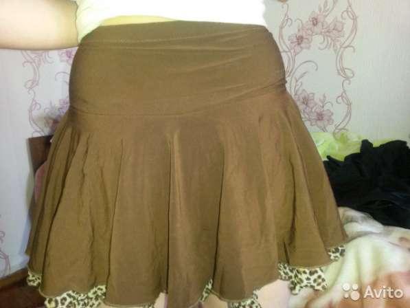 Продам тренировочную юбку для бальных танцев, рост 140, б/у