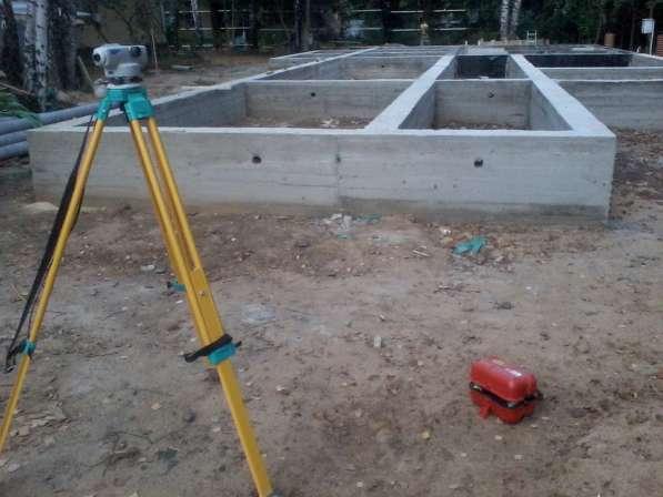 Подъем домов, устройство фундамента
