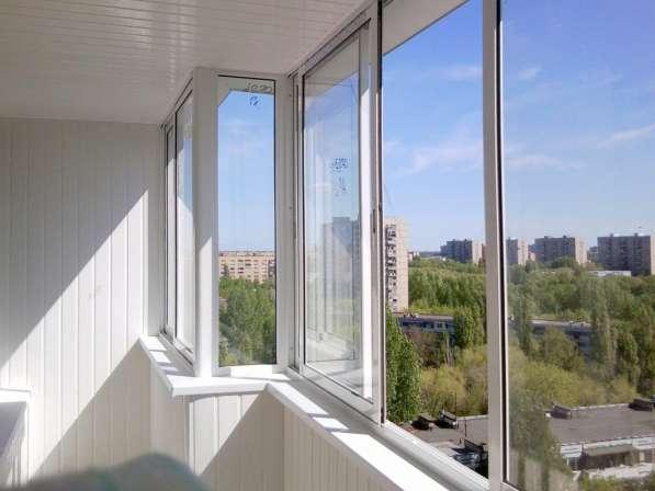 Окна из алюминия на 6 м балкон в мытищи.