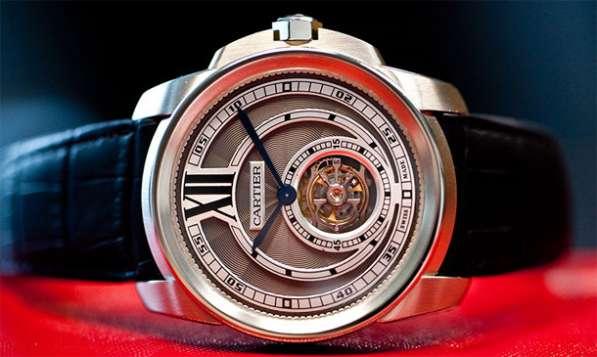 """Оригинальные часы Cartier """"Calibre de Cartier Flying Tourbil"""