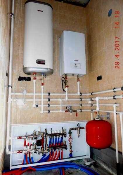 Монтаж систем отопления, водоснабжения, канализации в Омске фото 19