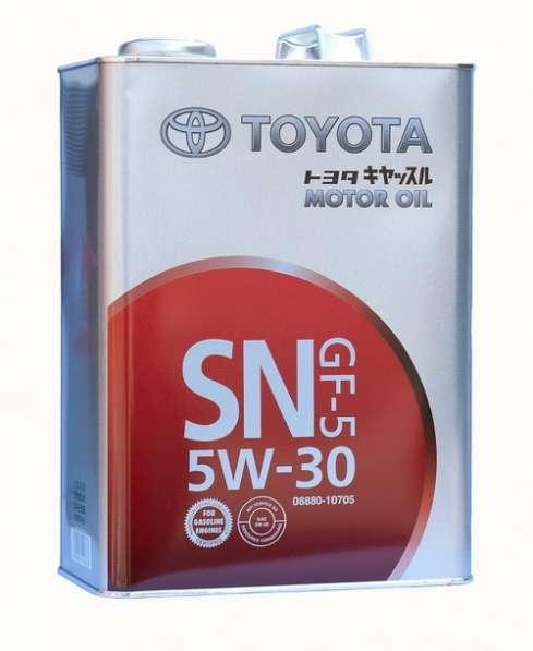 Масло моторное Toyota SN 5W30 синтетика 4литра