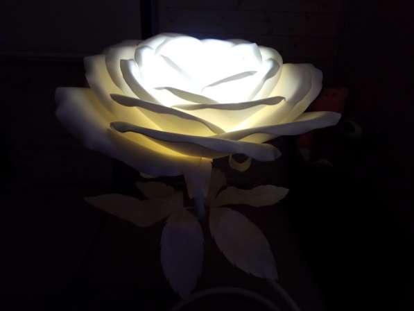 Роза - ночник в Нижнем Новгороде