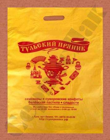 Пакеты с логотипом для кондитерских и пекарен в Туле